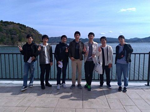 海 大学生