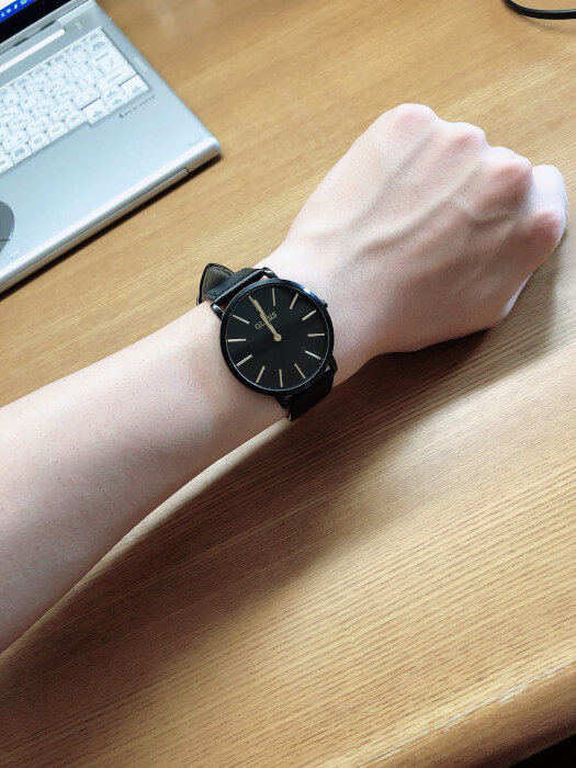 大学生 腕時計実際に付けている