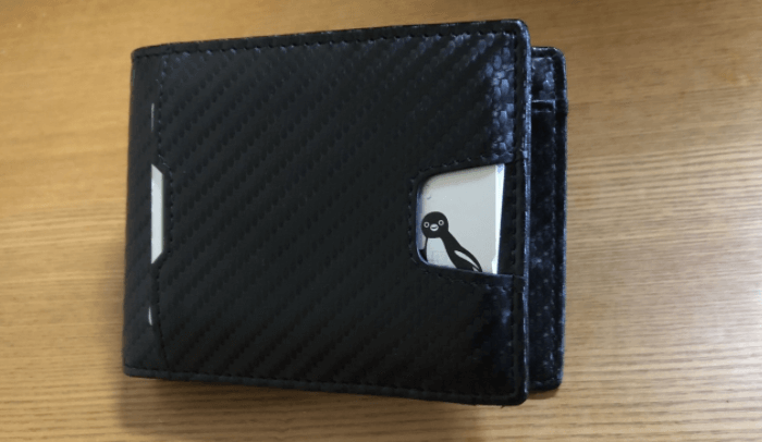 SHINPACK マネークリップ 小銭入れ付き メンズ 財布 二つ折り 7枚カード入れ 札ばさみ レザー 2
